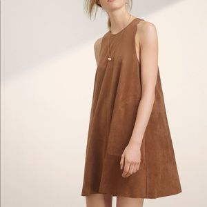 Wilfred Trompette dress Aritzia *Tan*